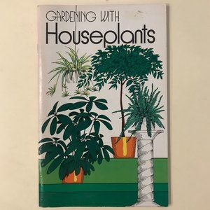VINTAGE Gardening with Houseplants book